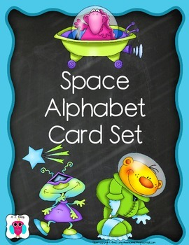 Alphabet Space Card Set