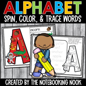 Alphabet Spin, Color and Trace Words