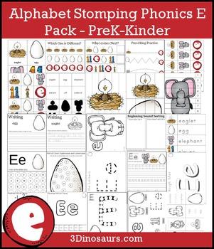 Alphabet Stomping Phonics E Pack - PreK-Kinder