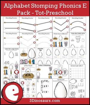Alphabet Stomping Phonics E Pack – Tot-Preschool