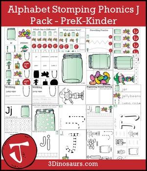 Alphabet Stomping Phonics J Pack - PreK-Kinder