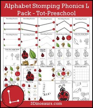 Alphabet Stomping Phonics L Pack – Tot-Preschool