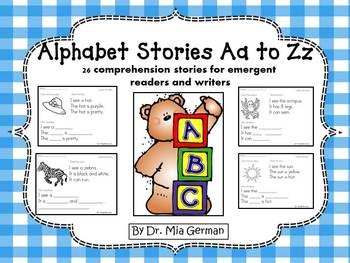 Alphabet Stories A to Z (comprehension stories for emergen