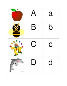 Alphabet Strip Letter/Sound Activity