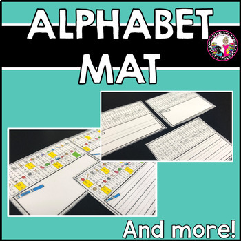 Alphabet Strips with Room to Write! Plus More!