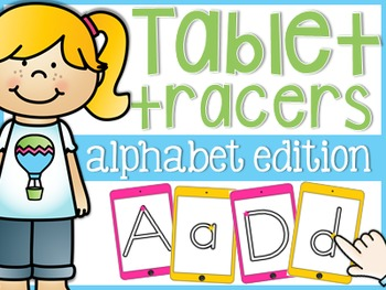 Alphabet Tablet Tracers
