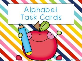 Common Core Alphabet Task Cards
