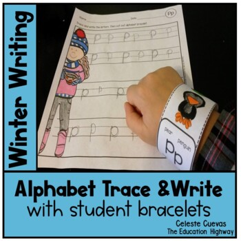 Alphabet Trace and Write: Winter