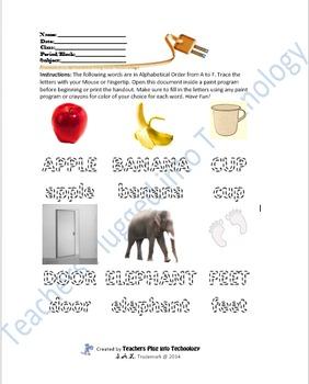 Alphabet Tracer