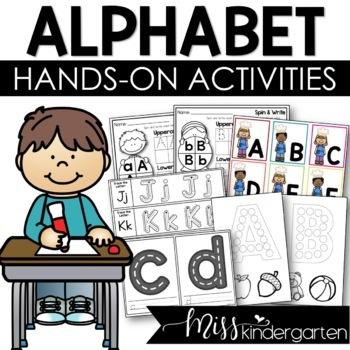 Alphabet Tracer Cards