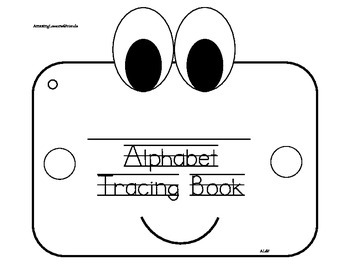 Alphabet Tracing Book Age 2
