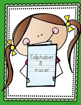 Alphabet Tracing Pages - French ~ l'alphabet à tracer