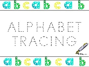 Alphabet Tracing - Upper & Lowercase Letters