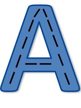 Alphabet Tracks