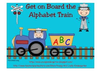 Alphabet Train Cars