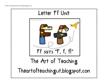 Alphabet Unit: Letter F