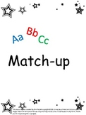 Alphabet Upper and Lower-case Match-up Game