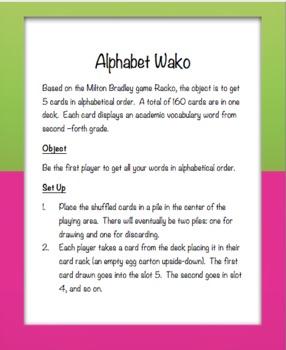 Alphabet Wacko