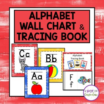 Alphabet Wall Chart and Tracing Book for Guided Reading