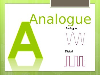 Alphabet Wall Chart for ICT and Computing