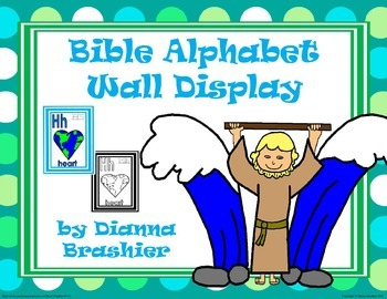 Alphabet Christian Theme Wall Signs