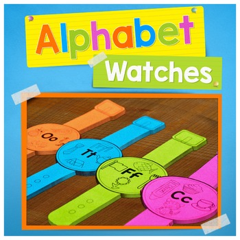 Alphabet Activities, Alphabet Watches