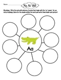 Alphabet Webs