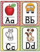 Alphabet Word Wall Cards & ABC Chart