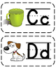 Alphabet Word Wall and Chart