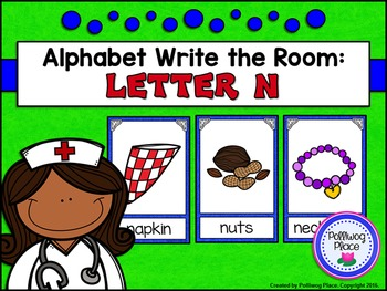 Alphabet Write the Room: Letter N