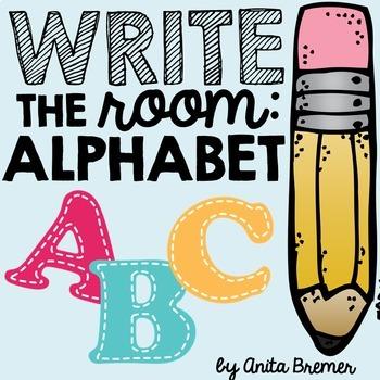 Write the Room: Alphabet