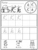 Alphabet Writing Practice {D'Nealian Version}
