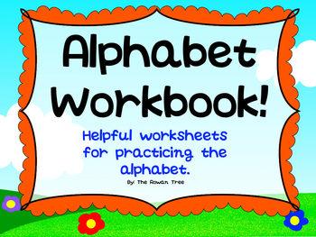 Alphabet Writing Practice Workbook A-Z