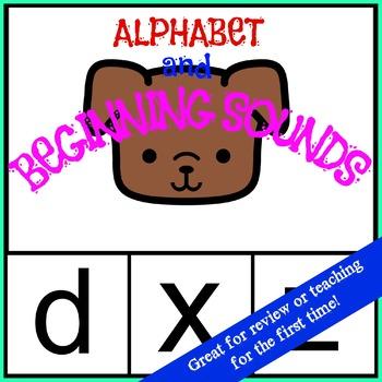 Alphabet and Beginning Sounds