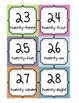 Alphabet and Numbers to 30 - Chevron - Multicolored