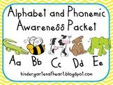 Alphabet and Phonemic Awareness Packet