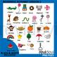 Alphabet clip art - Beginning alphabet version 2 clipart