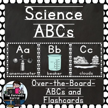 Science Themed Over-the-Board Alphabet