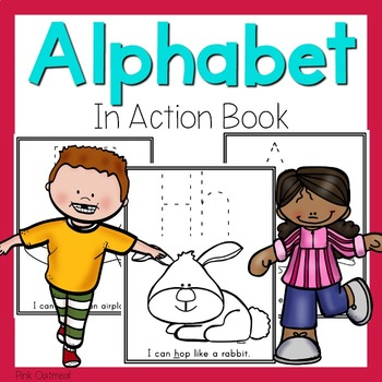 Alphabet in Action Book