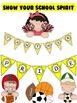 Alphabet pennants - Great tool for motivating School Spirit
