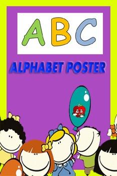 Alphabet poster.