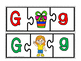 Alphabet puzzles(50% off)