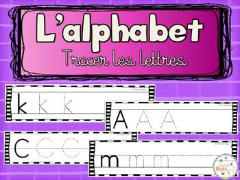 Alphabet - letter writing / L'alphabet - écriture des lettres