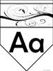 Alphabet with a Swirl
