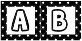 Alphabet/Word Wall letters