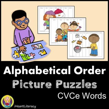 Alphabetical Order Picture Puzzles – Silent E Words