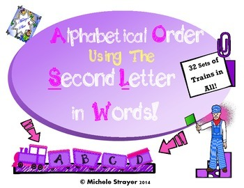 Alphabetical Order Using the Second Letter in Words