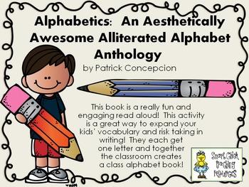 Alphabetics by P. Concepcion ~ Using the Book to Make a Cl