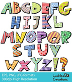 Alphabets Digital Clip Art