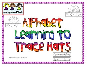 Alphabets Learning to trace Hats